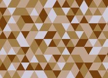 Modelo inconsútil del triángulo geométrico colorido Vagos abstractos del vector Fotos de archivo