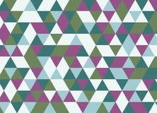 Modelo inconsútil del triángulo geométrico colorido Vagos abstractos del vector Fotografía de archivo libre de regalías