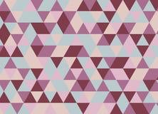 Modelo inconsútil del triángulo geométrico colorido Vagos abstractos del vector Imágenes de archivo libres de regalías