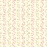 Modelo inconsútil del vector cariñoso en colores pastel de la boda Foto de archivo libre de regalías