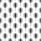 Modelo inconsútil del vector con los insectos abstractos stock de ilustración