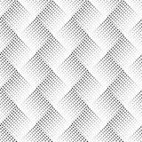 Modelo inconsútil del vector con los puntos Fondo ornamental abstracto Textura elegante sin fin Ilusión óptica 3D Ab elegante mod Imagenes de archivo