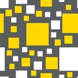 Modelo inconsútil del vector de cuadrados Imagen de archivo libre de regalías