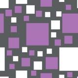 Modelo inconsútil del vector de cuadrados Imágenes de archivo libres de regalías