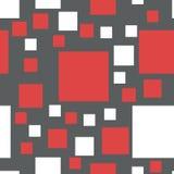 Modelo inconsútil del vector de cuadrados Fotos de archivo libres de regalías