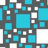 Modelo inconsútil del vector de cuadrados Fotografía de archivo