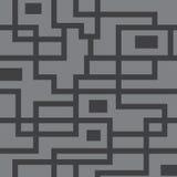 Modelo inconsútil del vector de líneas anaranjadas Imagen de archivo libre de regalías