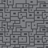 Modelo inconsútil del vector de líneas grises Fotos de archivo libres de regalías