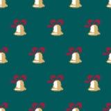Modelo inconsútil del vector de la Navidad Imagenes de archivo