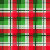 Modelo inconsútil del vector de la tela escocesa fotos de archivo libres de regalías