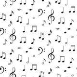Modelo Inconsútil Del Vector De Las Notas Musicales