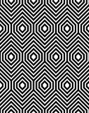 Modelo inconsútil del vector del zigzag Imagen de archivo libre de regalías