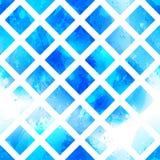 Modelo inconsútil del vector en extracto de la textura de la acuarela del vector Fotografía de archivo libre de regalías