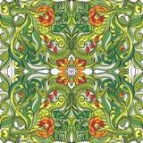 Modelo inconsútil del vector floral de la primavera Imágenes de archivo libres de regalías