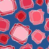 Modelo inconsútil del vector, fondo geométrico stock de ilustración