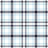 Modelo inconsútil del vector del tartán Textura a cuadros de la tela escocesa Fondo cuadrado geométrico para la tela Imagen de archivo