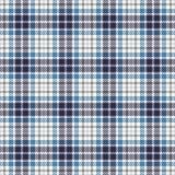 Modelo inconsútil del vector del tartán Textura a cuadros de la tela escocesa Fondo cuadrado geométrico para la tela Fotos de archivo