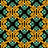 Modelo inconsútil del vector tribal colorido ornamental El estilo étnico modeló el fondo geométrico Contexto de las tejas de la r libre illustration