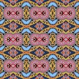 Modelo inconsútil del vintage de la geometría, estilo étnico ilustración del vector