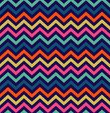 Modelo inconsútil del zigzag colorido libre illustration