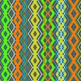 Modelo inconsútil del zigzag del vector Imagen de archivo libre de regalías