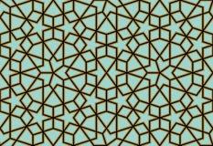 Modelo inconsútil diez de Zufar Imagen de archivo libre de regalías