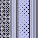 Modelo inconsútil elegante en fondo azul claro Fotografía de archivo libre de regalías