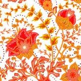 Modelo inconsútil Elementos decorativos de la vendimia Fondo dibujado mano Árabe, indio, adornos del otomano Perfeccione para libre illustration