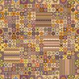 Modelo inconsútil Elementos decorativos de la vendimia Fondo dibujado mano Islam, árabe, indio, adornos del otomano Fotografía de archivo libre de regalías