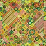 Modelo inconsútil Elementos decorativos de la vendimia Fondo dibujado mano Islam, árabe, indio, adornos del otomano Fotografía de archivo
