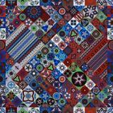 Modelo inconsútil Elementos decorativos de la vendimia Fondo dibujado mano Islam, árabe, indio, adornos del otomano Imagen de archivo