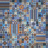 Modelo inconsútil Elementos decorativos de la vendimia Fondo dibujado mano Islam, árabe, indio, adornos del otomano Foto de archivo libre de regalías