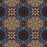 Modelo inconsútil Elementos decorativos de la vendimia Fondo dibujado mano Islam, árabe, indio, adornos del otomano Perfeccione p Imagenes de archivo