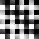 Modelo inconsútil en célula negra Stock de ilustración