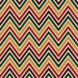 Modelo inconsútil en colores tradicionales de la Navidad La diagonal brillante de los colores de Chevron alinea el fondo abstract Stock de ilustración
