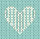 Modelo inconsútil en el tema del día de tarjeta del día de San Valentín con una imagen de los modelos y de los corazones del noru Fotos de archivo
