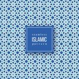 Modelo inconsútil en estilo tradicional islámico Imágenes de archivo libres de regalías
