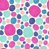 Modelo inconsútil espiral libre illustration