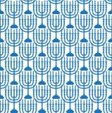 Modelo inconsútil feliz de Israel Independence Day con las banderas y el empavesado Días de fiesta judíos fondo sin fin, textura Imágenes de archivo libres de regalías