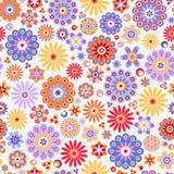 Modelo inconsútil floral Fotos de archivo