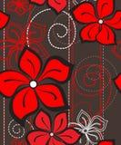 Modelo inconsútil floral Foto de archivo