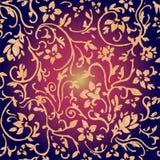 Modelo inconsútil floral abstracto foto de archivo libre de regalías