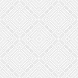 Modelo inconsútil floral abstracto 3d ilustración del vector