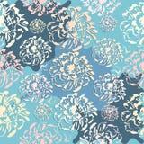 Modelo inconsútil floral abstracto lindo Foto de archivo