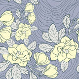 Modelo inconsútil floral del jazmín Fotos de archivo libres de regalías