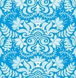 Modelo inconsútil floral del papel pintado Imagen de archivo