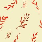 Modelo inconsútil floral El modelo inconsútil se puede utilizar para el papel pintado, terraplenes de modelo, fondo del Web page, Foto de archivo