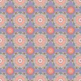 Modelo inconsútil floral en colores en colores pastel Imagen de archivo libre de regalías