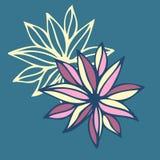 Modelo inconsútil floral Vector Fotos de archivo