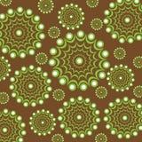 Modelo inconsútil, fondo, flores abstractas ilustración del vector